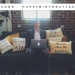 Birthday Pillow Sale
