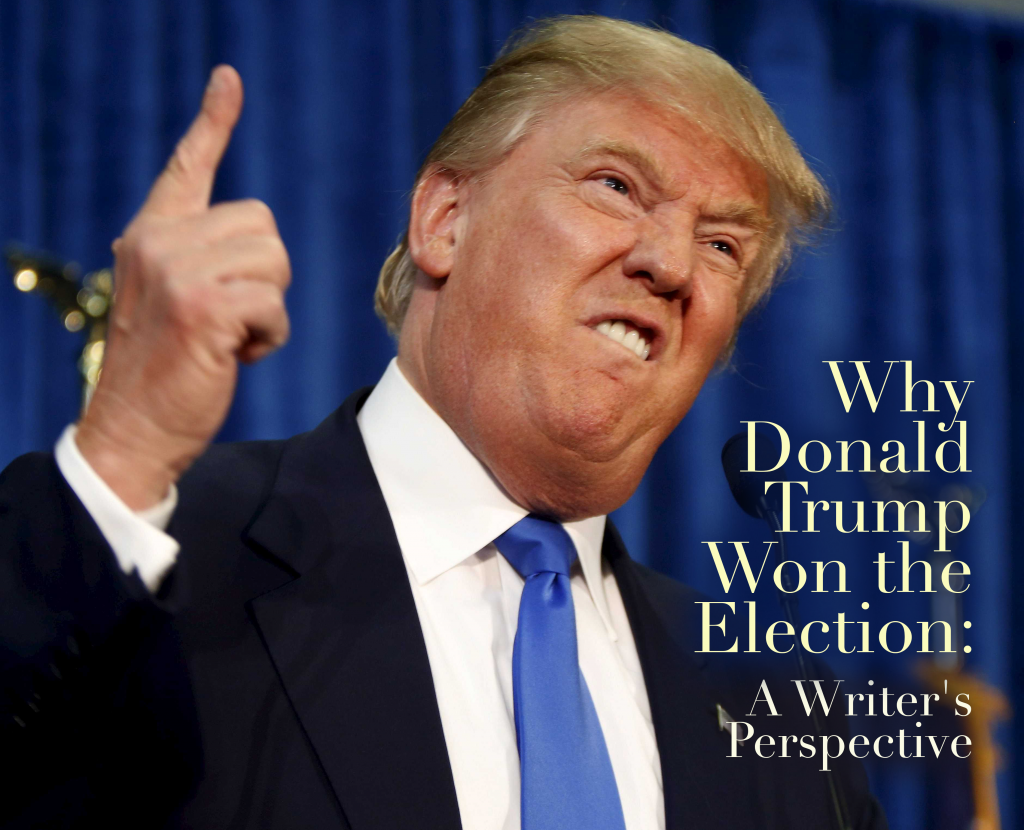 Why Donald Trump Won the Election: A Writer's Perspective
